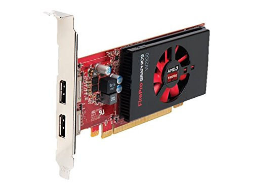 AMD FirePro W2100 2GB GDDR3 - Tarjeta gráfica (FirePro W2100, 2 GB, GDDR3, 128 bit, 4096 x 2160 Pixeles, PCI Express x16 3.0)