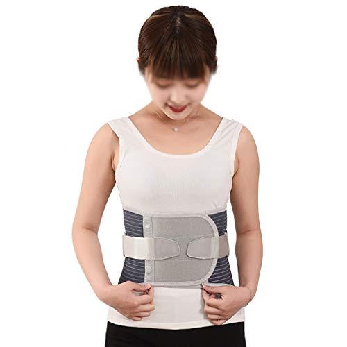 ZFF Cinturón Lumbar Alivio For Dolor Espalda Herniado Disco Ciática con Autocalentamiento Y Soporte Lumbar Hombres Mujer (Size : M)