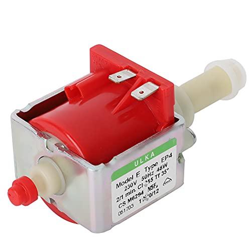 ciciglow Wasserpumpe, Kaffeepumpe, EU-Stecker 230V Elektromagnetische Pumpen, Wasserpumpe aus gemischten Metallmaterialien für medizinisch-mechanische(Voltage 230V (EAP4))