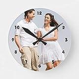Nessuno Brand Personalizzato orologio da parete foto Crea il tuo orologio rotondo