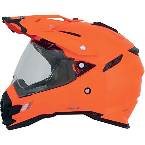 AFX FX-41DS Unisex-Adult Full-Face-Helmet-Style Helmet (Safety Orange, X-Small)