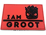 Patch Nation I Am Groot PVC Airsoft Paintball Klett Moral Flicken -