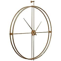 Cooper Classics Parsons Gold Wall Clock