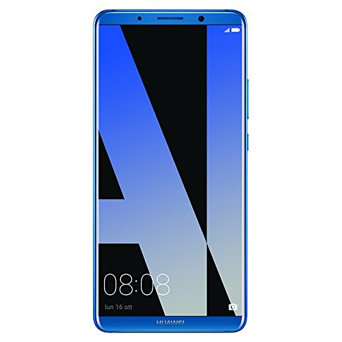 "Huawei Mate 10 Pro, Smartphone con Schermo 6,0"" FullView, (Octa-core CPU, Android 8.0, 128 GB), Blu"