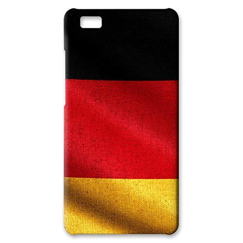 Preisvergleich Produktbild atFolix Hülle kompatibel mit Huawei P8 Lite,  FX-Case (Deutschland Flagge) Schutzhülle