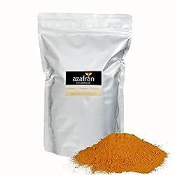 Azafran BIO Kurkuma Pulver - Premium Kurkumapulver gemahlen aus Indien 1kg
