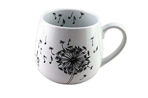 Tasse Pusteblume Noten - Schönes Geschenk für Musiker