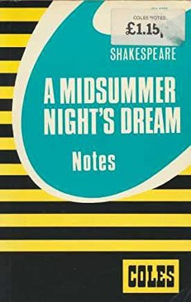 Coles Shakespeare a Midsummer Night's Dream Notes