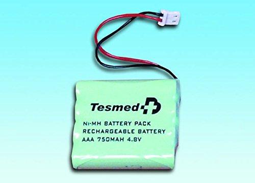 TESMED Batteria Ricaricabile Ni-MH Standard a 4 Cellule - Modelli Max 830, Max 5, Max 7.8