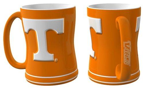 Hall of Fame Memorabilia Tennessee Volunteers Coffee Mug - 15oz Sculpted