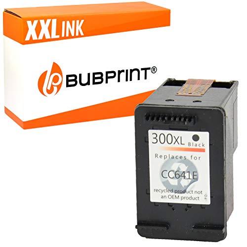 Bubprint Druckerpatrone kompatibel für HP 300 XL 300XL für DeskJet D1660 D2560 D2660 D5560 F2420 F2480 F2492 F4210 F4224 F4280 F4580 Envy 110 114 120 PhotoSmart C4680 C4780 Schwarz