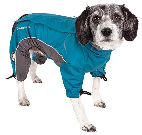 DogHelios Blizzard fülligen verstellbar und 3m Reflektierende Hund Jacke