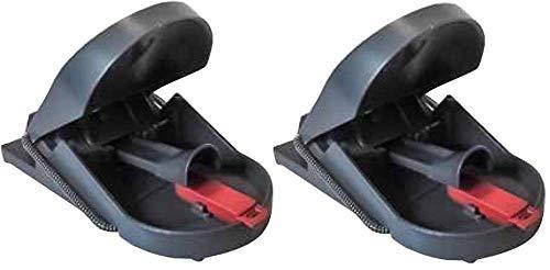 SuperCat Mausefalle PRO 2er Pack: Artgerechte und effiziente Mäusebeseitigung ohne Fehlfänge, giftfrei