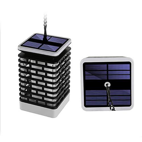 Solarlampe Gartenfackeln LED Fackel Solarleuchte Solar Gartenleuchte Hängende Solarleuchten IP44 Wasserdicht Auto EIN/Aus