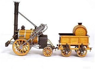 木製模型キット アークレー OC54000 蒸気機関車 ロケット号(ヨーク鉄道博物館レプリカ模型)和訳付き