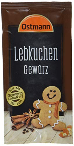 Ostmann Lebkuchen-Gewürz, 15er Pack (15 x 15 g)