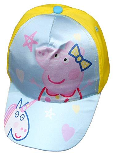 Setino Peppa Pig Einhorn Mädchen Baseball Cap Kappe Schirmmütze