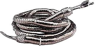 Kreatywny naszyjnik z wężem wolności, punkowy naszyjnik węża, elastyczny giętki naszyjnik typu żmijka / bransoletka, giętk...