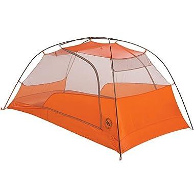 Big Agnes Copper Spur HV UL Tent, 2 Person, Grey/Orange