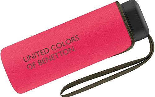 Benetton Taschenschirm Ultra Mini Flat Solid - Paradise Pink