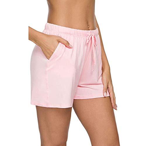 Pantalones Cortos Mujer Transpirables Deporte Leggins Pantalones Cortos De Pijama De Mujer Pantalones Deportivos Pantalones Cortos De Dormir De SalóN Pijama