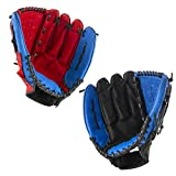 Baseball Gloves Thicken Child Junior Adult Catcher Infielder Softball Baseball Gloves (Color :...