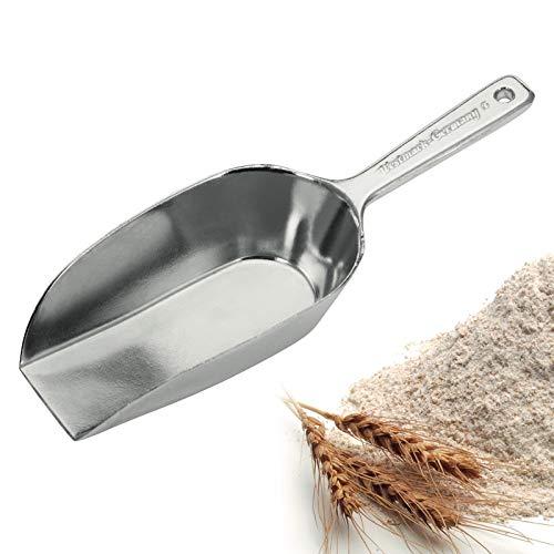 Westmark Abwiege-/Abfüllschaufel, Füllvolumen: 113 ml (ca. 110 g Mehl), Aluminium, Hygia, Silber, 91312291