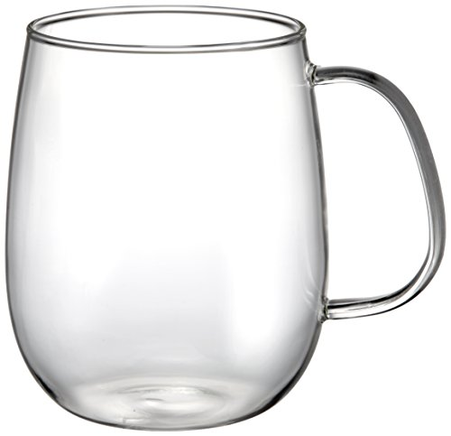 Unitea Glass Large Cup by Kinto