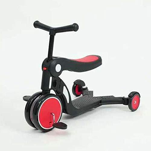 DUANYR-Scooter 5-in-1-Multifunktions-Kinder-Tretroller - Nehmen Sie EIN Multifunktions-Dreirad mit, das Sich perfekt für Kinder im Alter von 1 bis 6 Jahren eignet