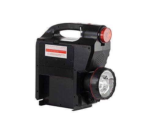 Celestron - PowerTank 17 Telescope Battery - Large Capacity 12V Power Supply for Computerized Telescopes - 17-amp Hour - AM/FM Radio - Siren - Red/White Flashlight - Car Battery Terminals - USB Ports