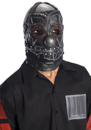 Rubie's Costume Slipknot Clown Mask, Black, One Size