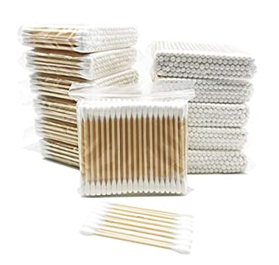 Bamboo Cotton Swabs/Eco Friendly Cotton Buds/Organic Wooden Cotton Swabs/Biodegradable Cotton Buds