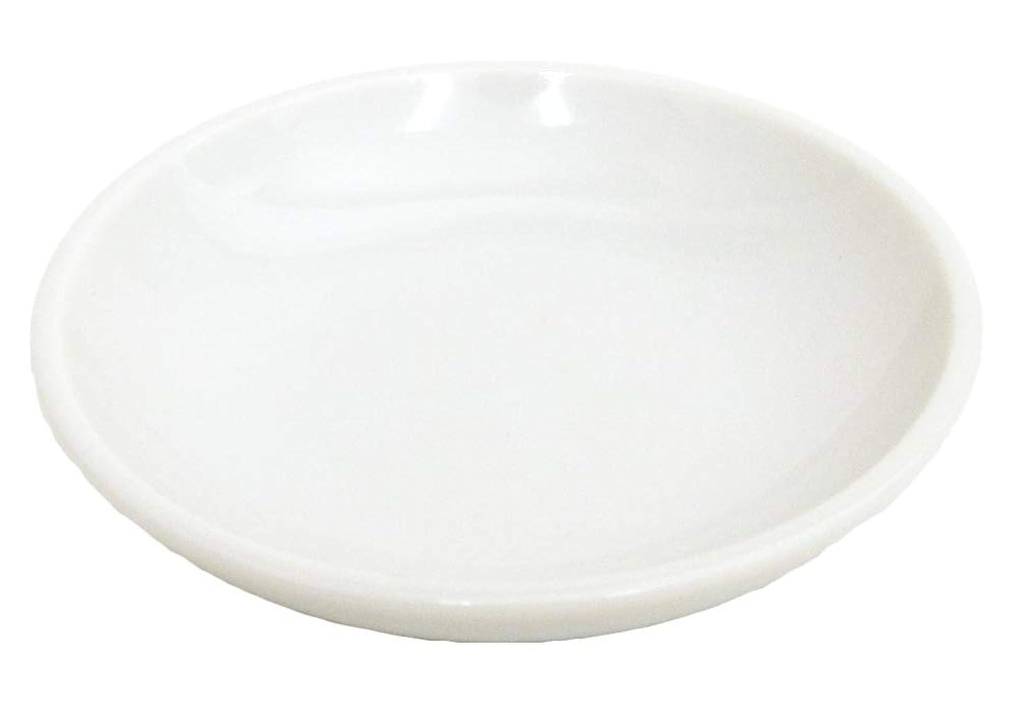 割れ目グラマー怖がらせる白皿 白2.5神皿 神棚用品 磁器 美濃焼