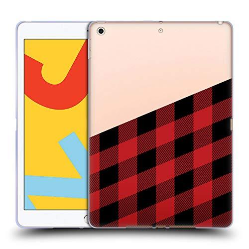 Head Case Designs Ufficiale Nicklas Gustafsson Taglialegna Textures 2 Cover in Morbido Gel Compatibile con iPad 10.2 (2019)