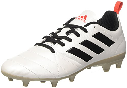 adidas Damen Ace 17.4 Fg Fußballschuhe, Weiß (Ftwr White / Core Black / Core Red), 43 1/3 EU