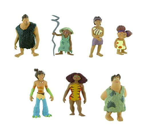 Comansi - Juego de Figuras de Juguete The Croods (7 Figuras)