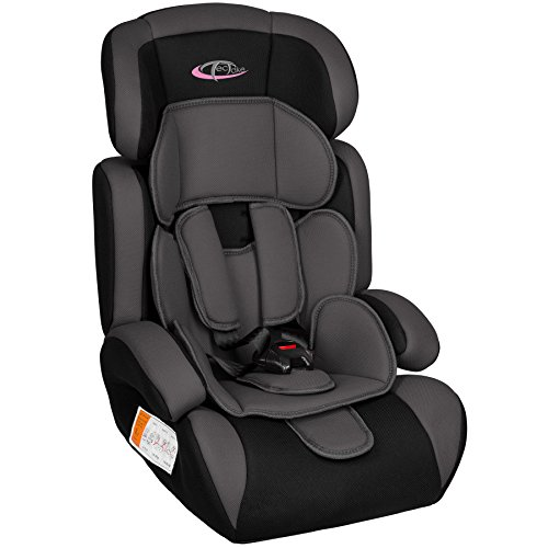 TecTake, seggiolino auto per bambini, gruppo 1/2/3,...