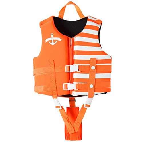 Bambino Gilet da Nuoto Ragazzi Ragazze Giacca da Nuoto Neoprene Flottazione Costumi da Bagno Giacche da Allenamento di Nuoto