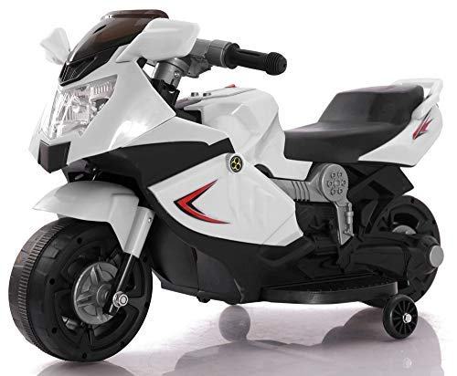Toyhouse Mini Ninja Superbike Rechargeable Battery Operated Ride-on for Kids(2 to 3.5yrs),White