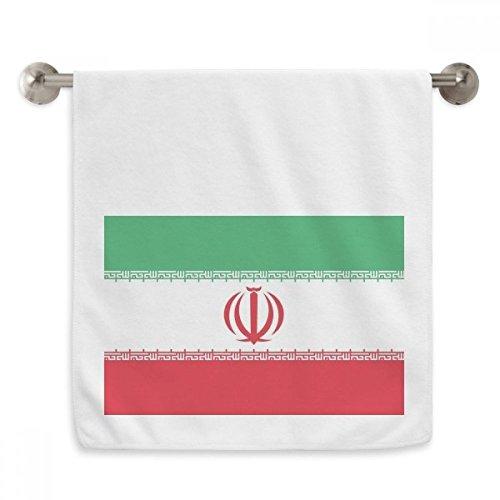 OFFbb - Toalla de lavabo con diseño de bandera nacional de la República de Irlanda, color blanco