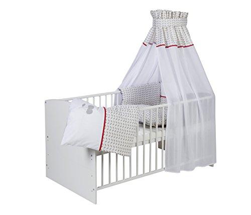 Schardt Parure de lit avec application, 4 pièces