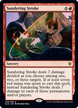 Magic: The Gathering - Sundering Stroke - Foil - Throne of Eldraine