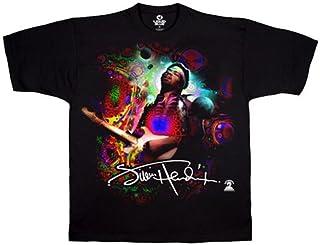 Liquid Blue Men's Jimi Hendrix Angel Short Sleeve T-Shirt