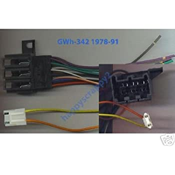 Amazon Com Stereo Wire Harness Chevy Pickup 88 89 90 91 92 93 Car Radio Wiring Installa Automotive