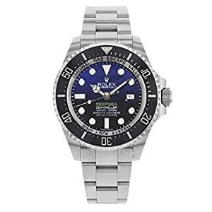 Fashion Shopping Rolex Deepsea Deep Blue Dial Stainless Steel Mens Watch 116660BLSO