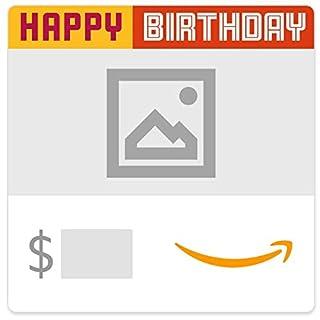 Amazon eGift Card - Upload Your Photo - Happy Happy Birthday (B07X1HCZYF) | Amazon price tracker / tracking, Amazon price history charts, Amazon price watches, Amazon price drop alerts