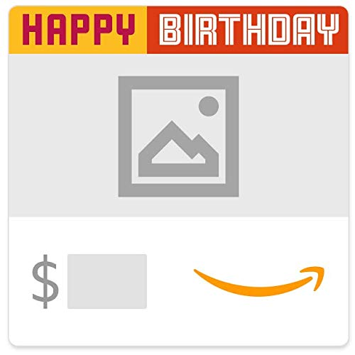 Amazon eGift Card - Upload Your Photo - Happy Happy Birthday