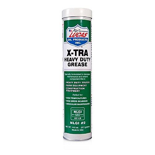 Lucas Oil, 10301, Extra Heavy Duty Grease, cartuccia di grasso