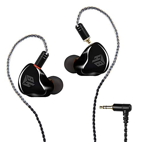 in Ear Headphones,WiredEarbuds,3.5 Wired Earphones/Earbuds/Headphones with MMCX Replaceable Cables for Most Smartphones,Natural High-Fidelity Sound Noise Cancelling Earbuds Running Earphone(No Mic)