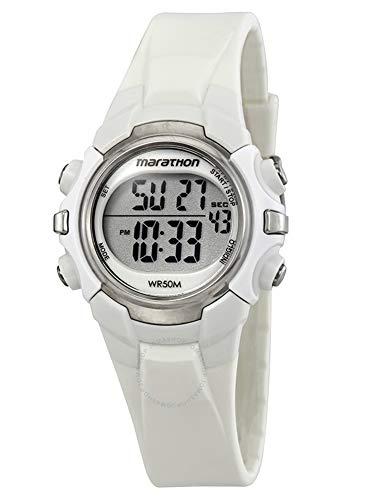 Timex Marathon Digital Mid Size Running Watch - One - White